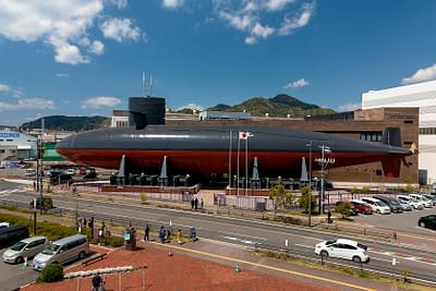 The Iron Whale Museum, a museum inside a decommissioned naval submarine